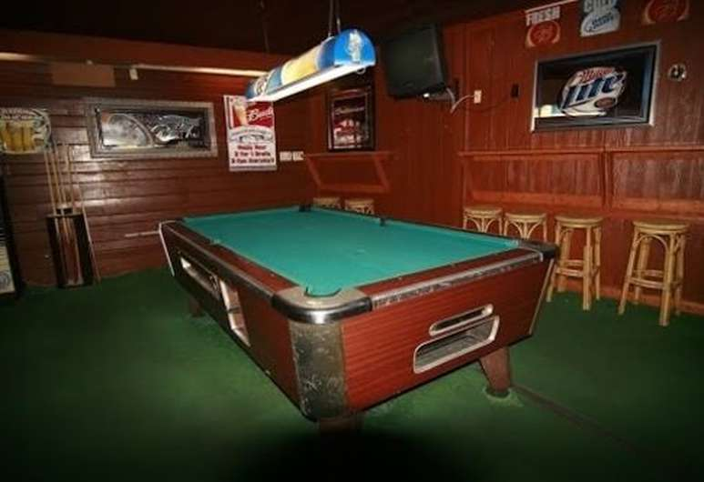 Pool Table at Margarite Breeze